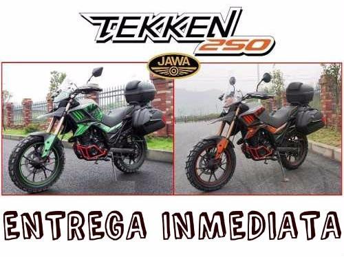 moto jawa tekken 250 0km 2019 entrega inmediata oferta hoy