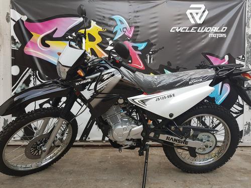 moto jianshe 125 cross enduro 0km 2018 stock  hasta 10/11
