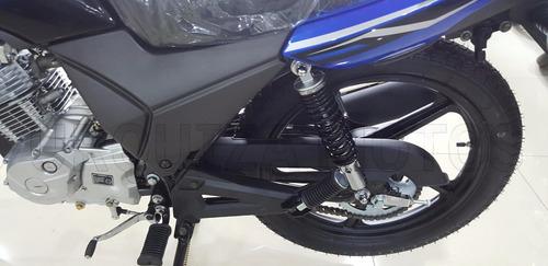 moto jianshe js 125 6by 100% financiada 0km urquiza motos
