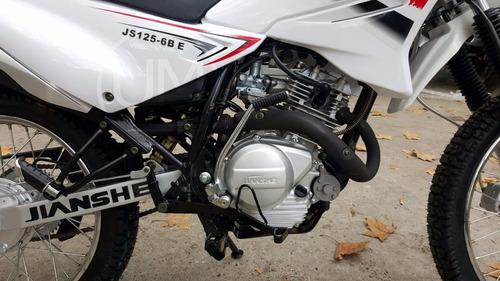 moto jianshe js 125 6e enduro cross 0km urquiza motos