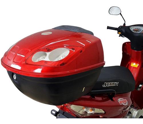 moto jonny hype scooter 125cc zero km - prata