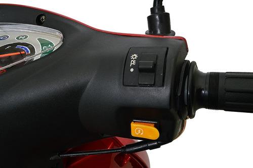 moto jonny hype scooter 125cc zero km - vermelha