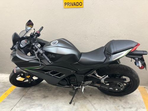 moto kawasaki ex300, 3.500 km, único dueño. perfecto estado
