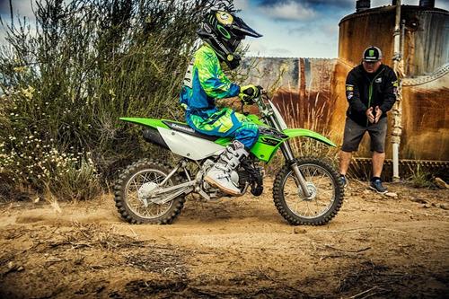 moto kawasaki klx 110  2019 ( trilha / enduro / rally )