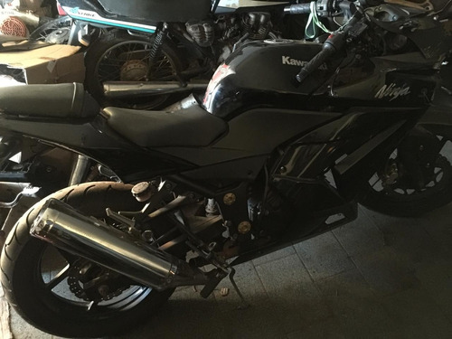 moto kawasaki ninja 250r para retirada de peças