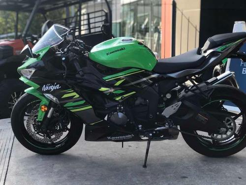 moto kawasaki ninja zx-6r
