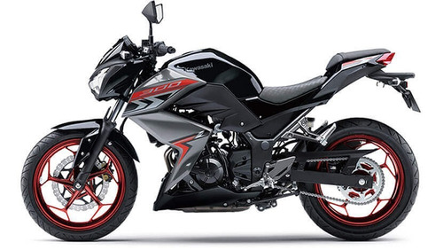 moto kawasaki z300 se - modelo 2019