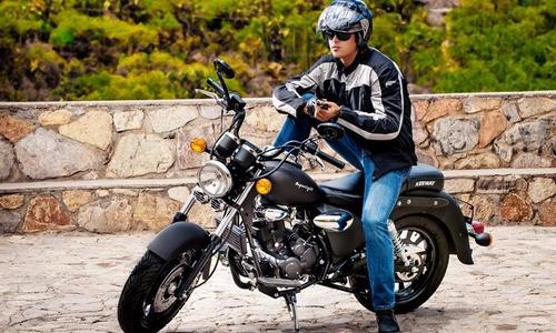 moto keeway superlight 200cc año 2018 negra