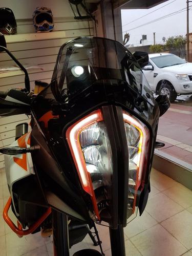moto ktm 1290 super adventure r 2017 0km blanca con naranja