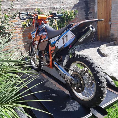 moto ktm 300 mxc 2t precio mercado $3500, oportunidad $2.550