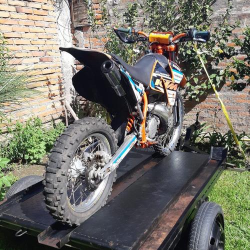 moto ktm 300 mxc 2t precio mercado $3500, oportunidad $2.600