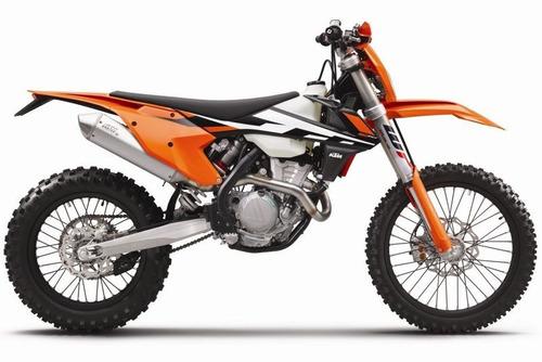 moto ktm 350 exc-f 0km 2017 - global bikes