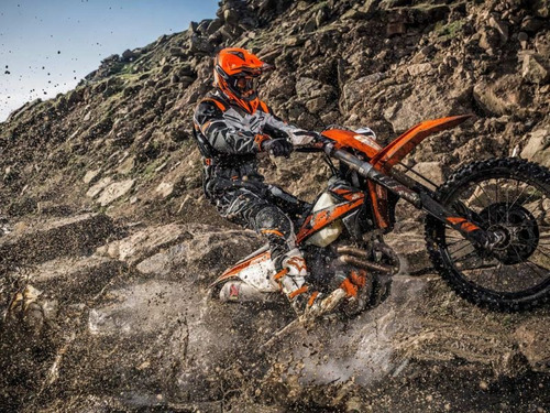 moto ktm 350 exc-f 0km 2018 - globalbikes