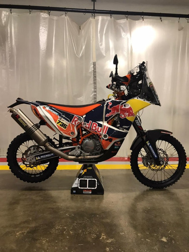 moto ktm 450 rally replica modelo 2015