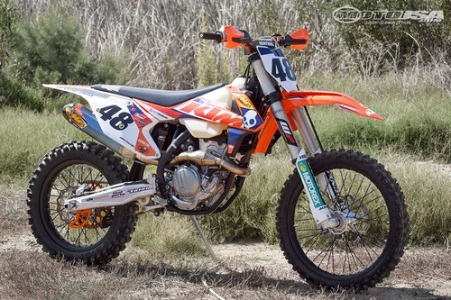 moto ktm 450 xcf cross country  2017 envio gratis