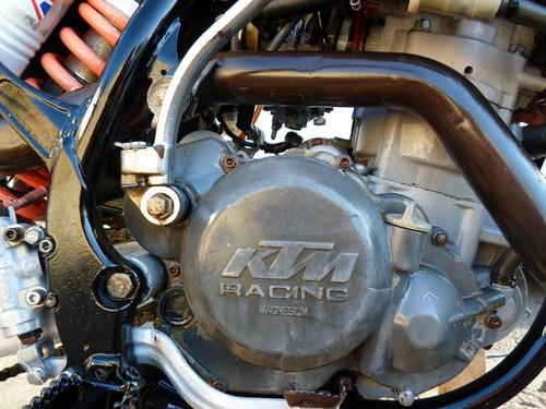 moto ktm exc 450cc racing 2007(dt,trilha,cf,xt,honda,yamaha)