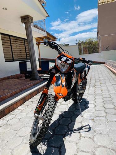 moto ktm exc 530 como nueva