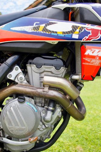 moto ktm sx-f 350 2017 con extras