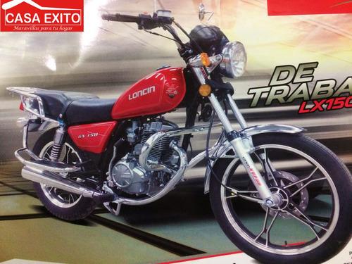 moto loncin lx150-gn de trabajo año 2017 150cc