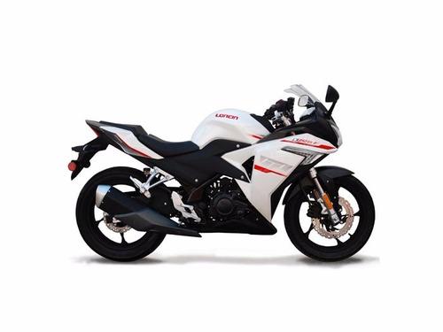 moto loncin lx250-gs 250cc año 2018 bl/ ne tipo ninja
