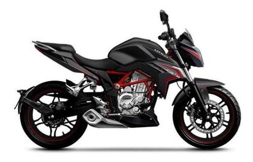 moto loncin lx300-cr6 300cc año 2019 color ro/ ne