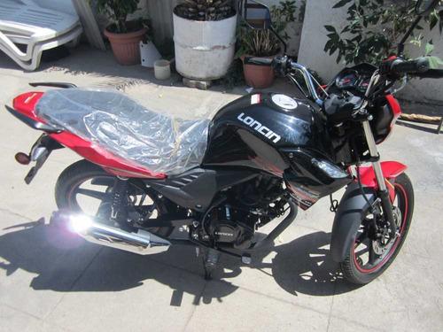 moto loncin nueva 2020