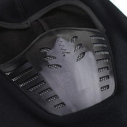 moto mascara balaclava termica ninja frio extremo pasamontañ