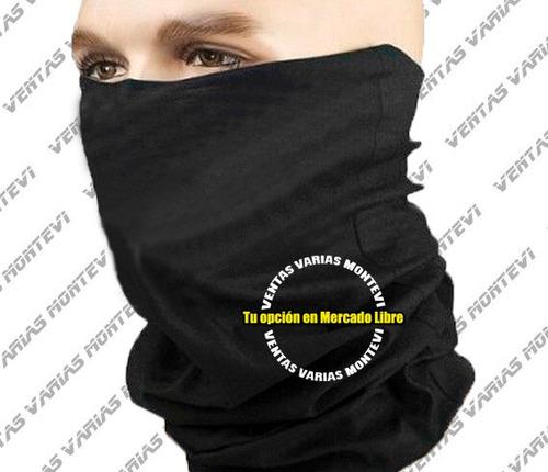 moto mascara bufanda proteccion motociclistas