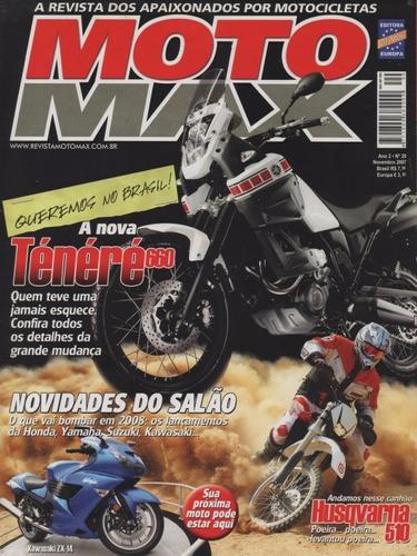 moto max n°20 ténéré xt660z husqvarna te 510 dual buell xb12