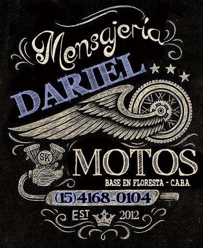 moto mensajeria dariel (base floresta-flores)