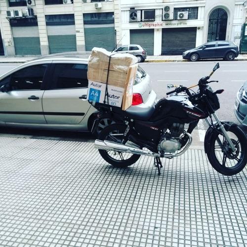 moto mensajeria flex , envíos en el acto