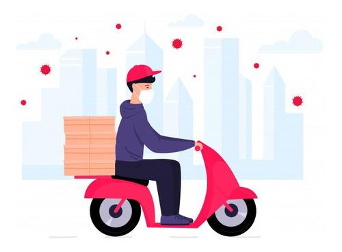 moto mensajeria zona oeste con permiso de circulación tarifa