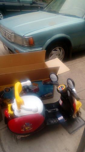 moto mickey 6 v bateria bebes niños musical luces