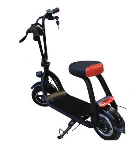 moto mini scooter eléctrico batería recargable +rendimiento