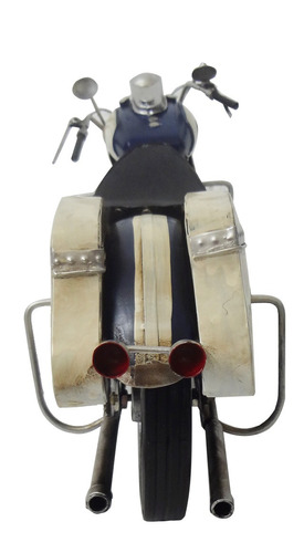 moto miniatura harley davison vintage retro ferro fundido