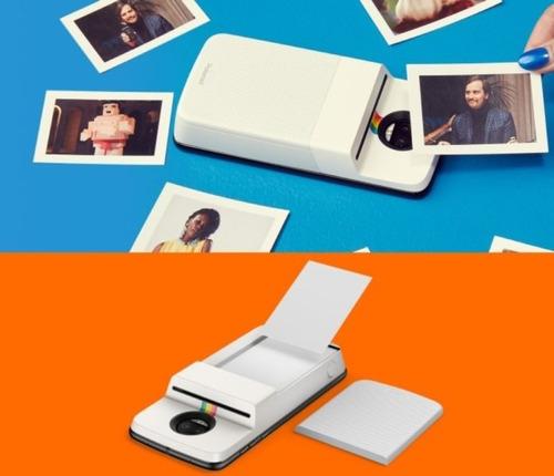 moto mods polaroid impresora instashare motorola para moto z