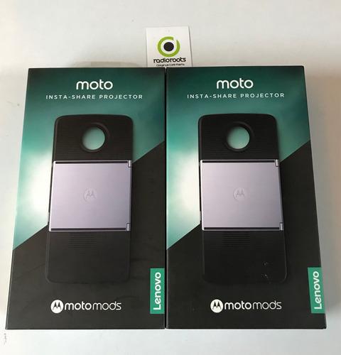 moto mods proyector insta-share 100 % original motorola