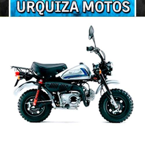 moto mondial monkey 50 0km urquiza motos
