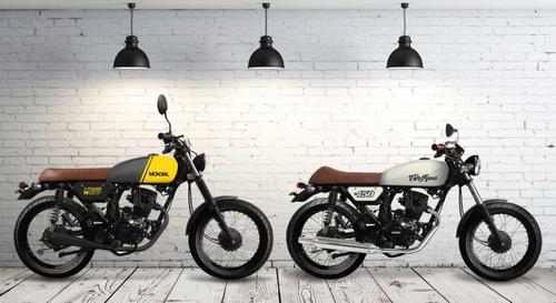 moto mondial tracker w150 cafe racer 2020 0km urquiza motos