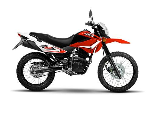 moto motomel enduro cross skua 200 v6 0km um