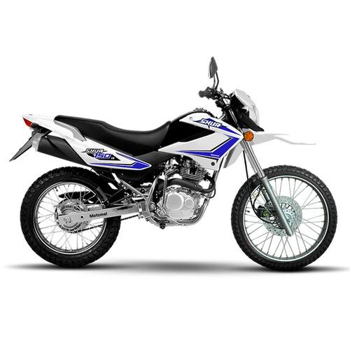moto motomel skua 150 v6 0km enduro calle cuotas