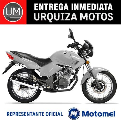 moto motomel tcp 150 con rayo y disco 0km urquiza motos