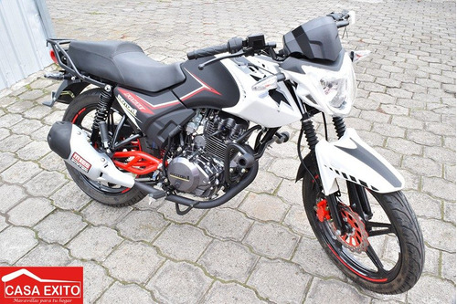 moto motor 1 fx150 año 2017 negro - rojo - azul- verde