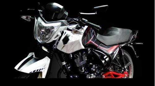 moto motor 1 fx150 std 150cc año 2018 color rojo
