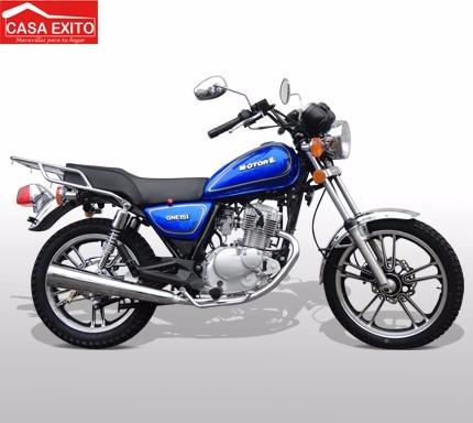 moto motor 1 gne 151 u  año 2017 negro - rojo - azul