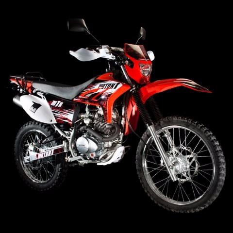 moto motor 1 m1r 200 r año 2017 negro - rojo - azul