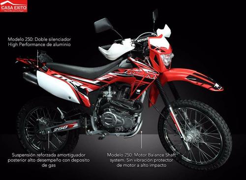 moto motor 1 m1r250 std 250cc año 2020 color ne/ ro/ az