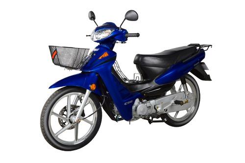 moto motos yumbo pollerita c 110 dlx  aleación + casco