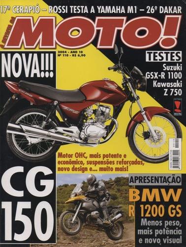 moto! n°110 suzuki gsx-r 1100 kawasaki z 750 honda cg 150