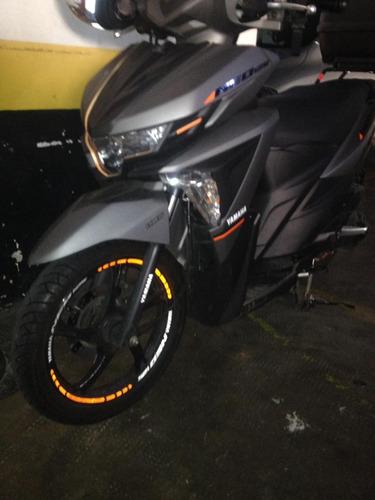 moto neo 125 yamaha - 2018 - em até 12x c juros